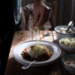 Zuppa speziata di funghi, carote e patate con riso basmati e yogurt2059