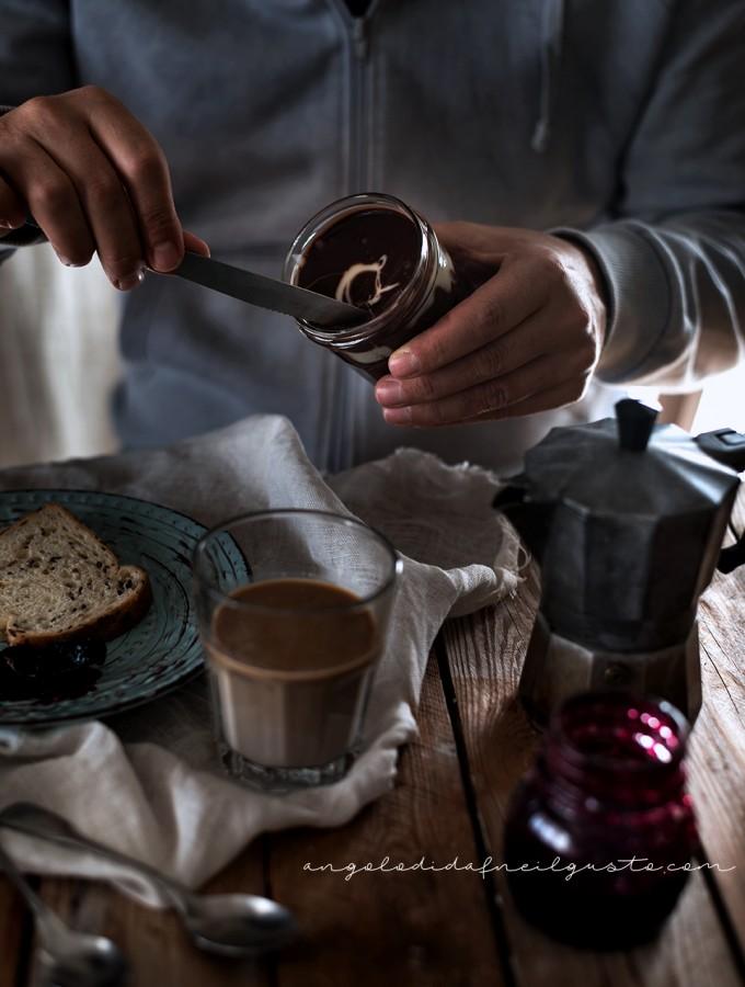 Crema spalmabile al cioccolato e marshmallow 2175