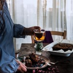Brownies al cioccolato, cocco e avena con mirtilli e nocciole_3726