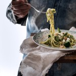 Spaghetti broccoli asparagi feta_1812